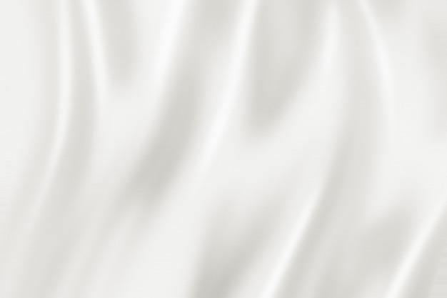 Texture de fond en soie blanche. illustration 3d
