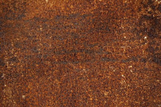 Texture de fond de surface en métal rouillé