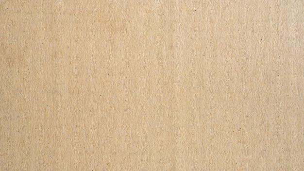 Texture et fond de surface de papier brun panorama