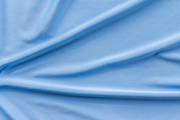 Texture et fond de tissu bleu