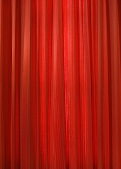 Texture de fond de tissu rideau rouge