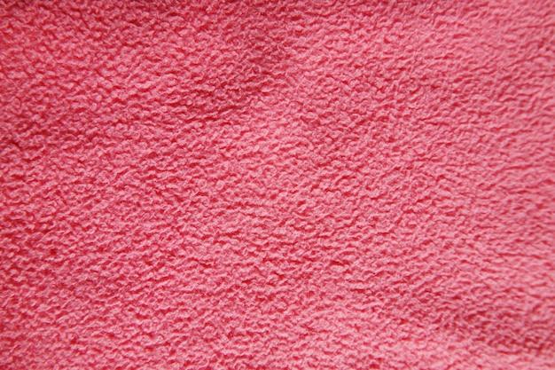 Texture de fond de tissu rose