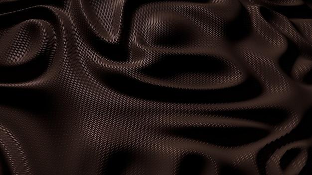 Texture de fond de tissu soyeux tissu marron.