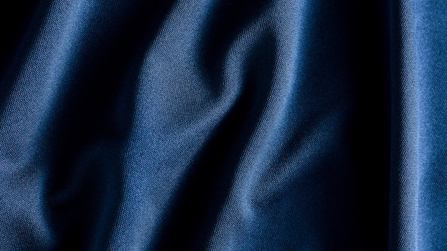 Texture de fond tissu tissu bleu