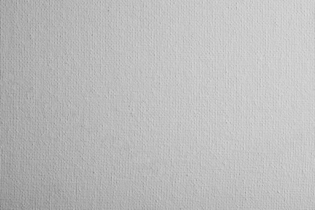 Texture de fond de toile blanche vierge