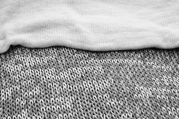 Texture de fond de toile tricotée.