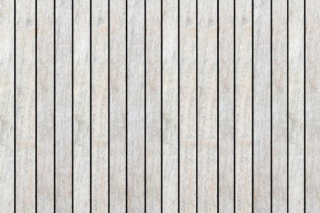 Texture de fond vertical de bande de bois de couleur blanc vieilli
