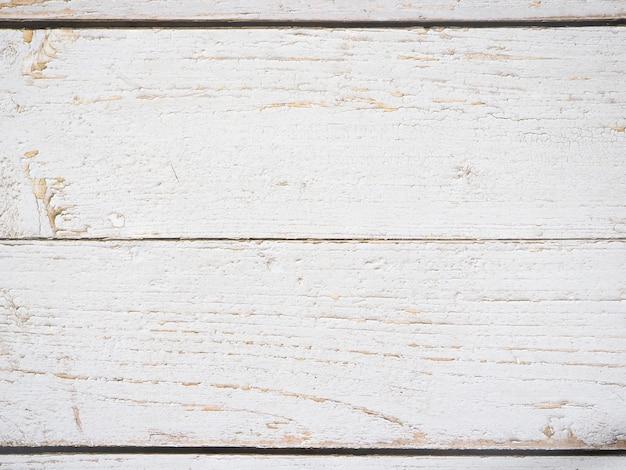 Texture de fond vieux bois blanc