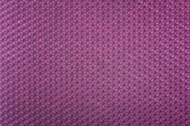 Texture de fond violet en nid d'abeille. abstrait géométrique. modèle.