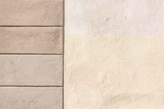Texture de fragment de mur en béton peint