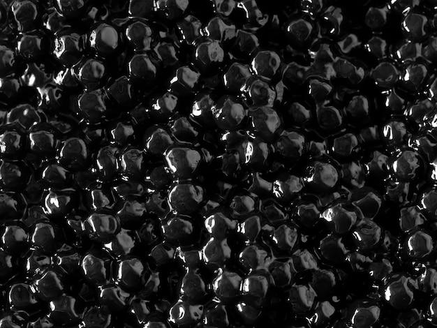 Texture de gelée noire pour le fond