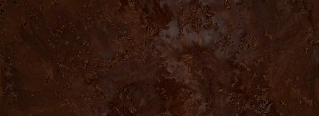 Texture de la glace au chocolat.