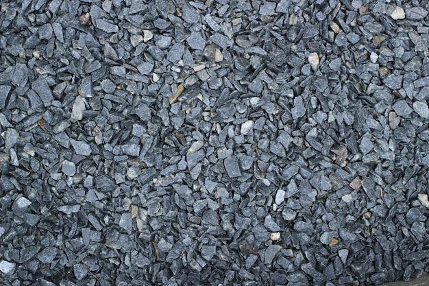 Texture de gravier rocheux gris