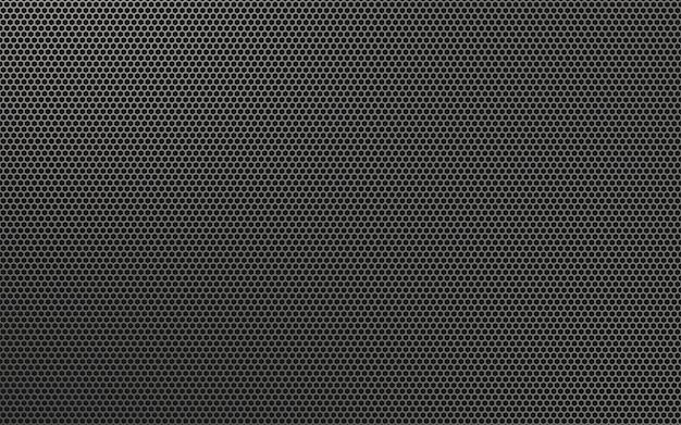 Texture de grille en aluminium