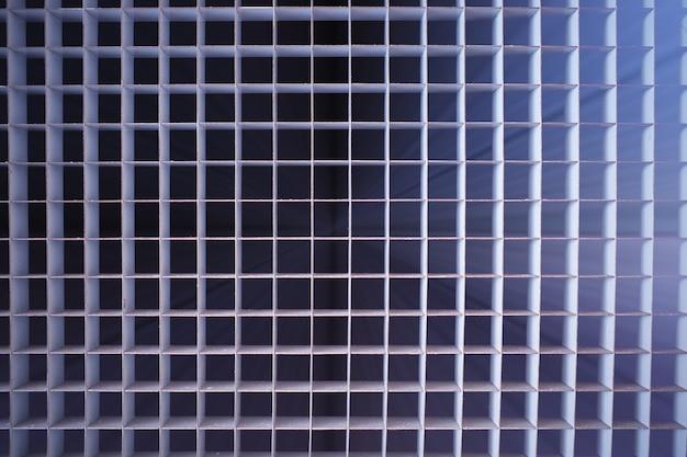 Texture de grille dramatique avec fond de fuite de lumière hd