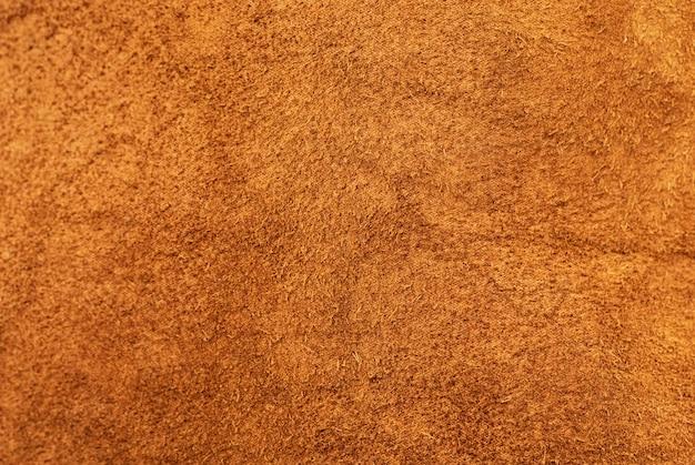 Texture gros plan de cuir suédé