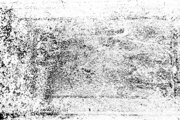 Texture grunge abstraite. particules de poussière et grain de poussière sur fond blanc. superposition de saletés ou effet de rayures d'écran pour un style d'image vintage.