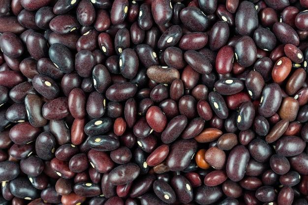 Texture de haricots, haricots rouges