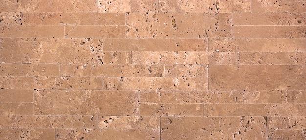 Texture de haute qualité en pierre naturelle, en travertin jaune ou en marbre