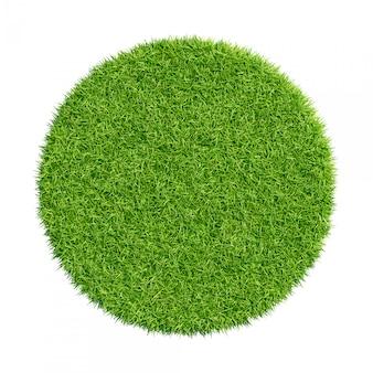 Texture d'herbe verte abstraite