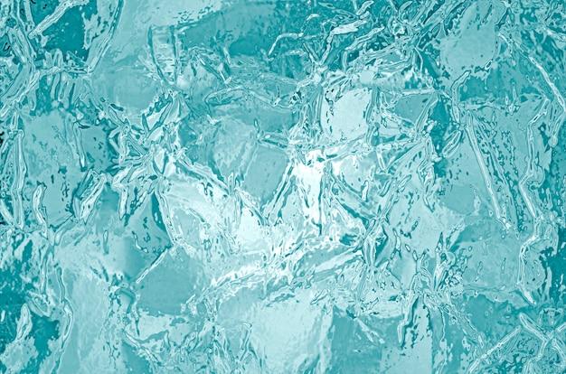 Texture illustrée de la glace congelée