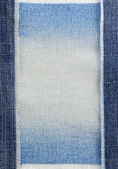 Texture de jeans bleu comme arrière-plan