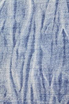 Texture de jeans bleu