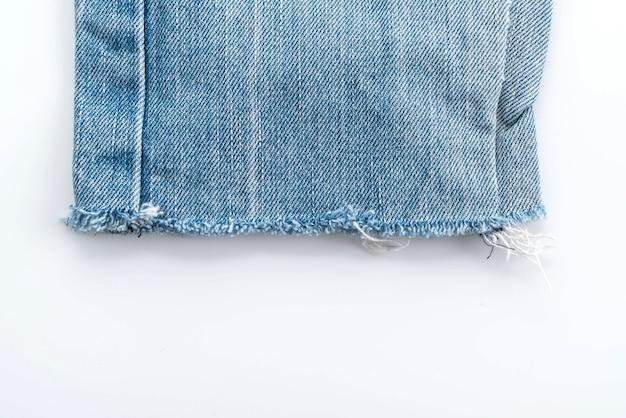 Texture des jeans bleus