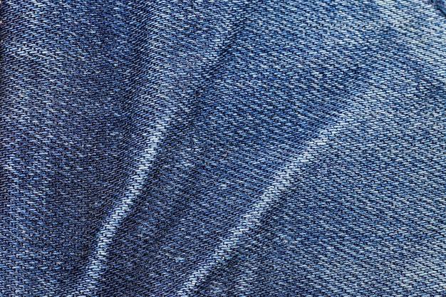 Texture de jeans bleus