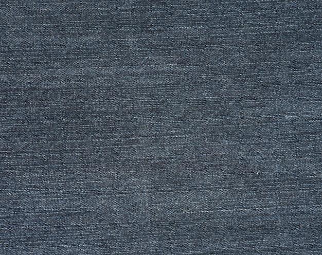 Texture de jeans en denim bleu