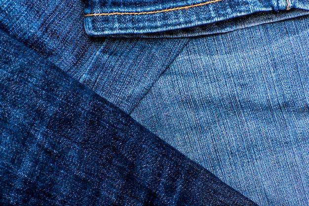 Texture de jeans ou fond de jeans en denim