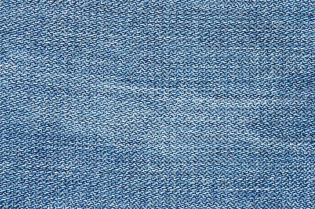 La texture des jeans, vue de dessus.