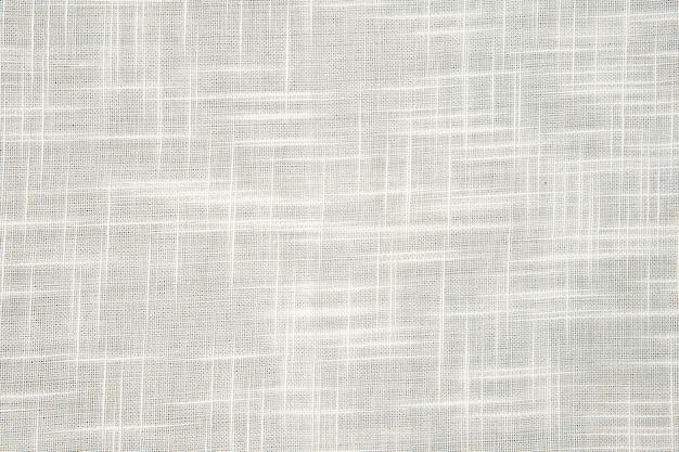Texture de jute blanche