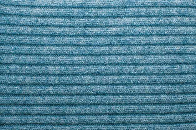 Texture de laine bleue