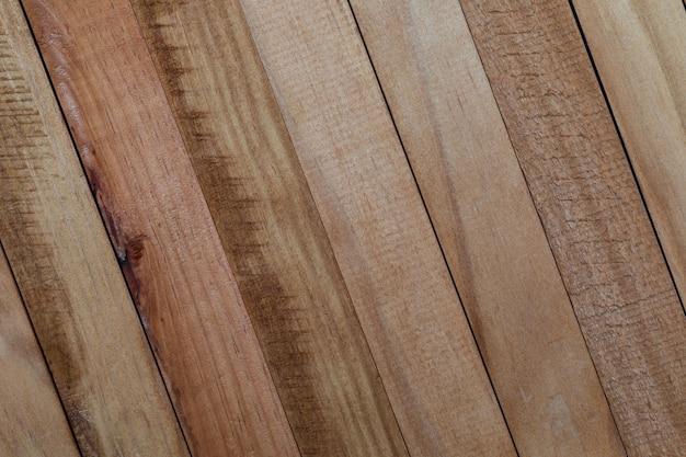 Texture des lattes de bois naturel (non vernies)