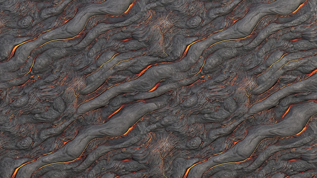 Texture de lave