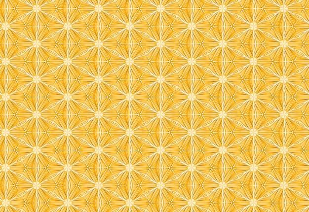 Texture légère transparente de pétales de fleurs élégantes en trois dimensions basé sur l'illustration 3d de grille hexagonale