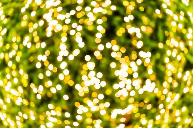 Texture de lumières jaunes et vertes