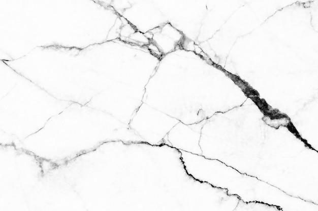 Texture de marbre blanc avec motif naturel pour les œuvres d'art de fond ou de conception.