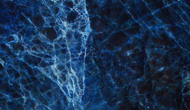 Texture de marbre bleu foncé pour les arrière-plans