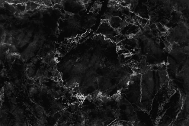 Texture de marbre noir en motif naturel et haute résolution.
