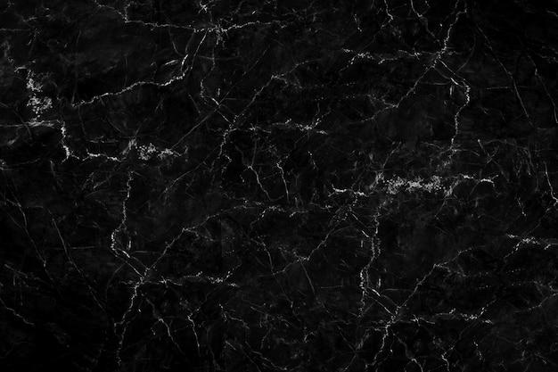 Texture de marbre noir naturel pour fond de tuile de papier peint de tuile de peau