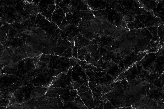 Texture de marbre noir naturel pour le papier peint de carreaux de peau