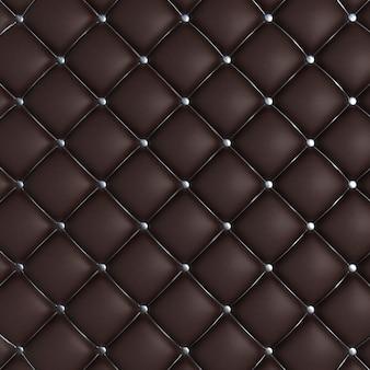 Texture matelassée noir