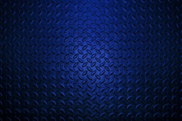 Texture en métal bleu