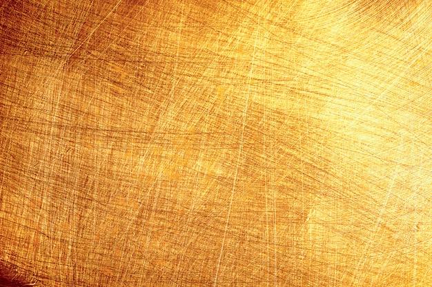 Texture en métal doré,