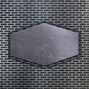 Texture en métal avec des rayures