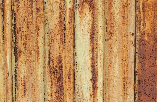 Texture de métal rouillé fond de texture gros plan de métal rouillé