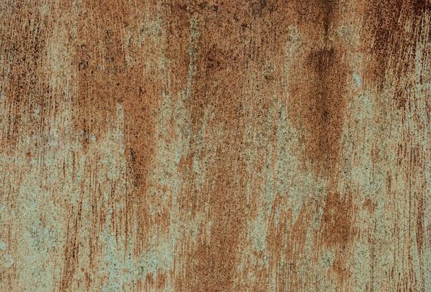 Texture en métal rouillé