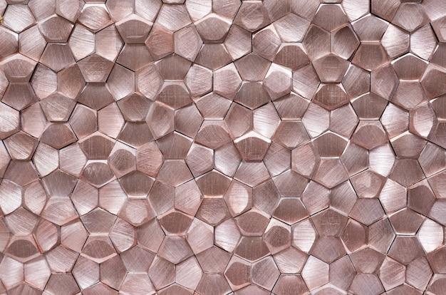 Texture métallique abstraite géométrique